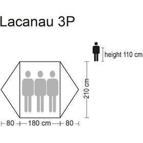 CAMPZ Lacanau 3P Tent grey/blue